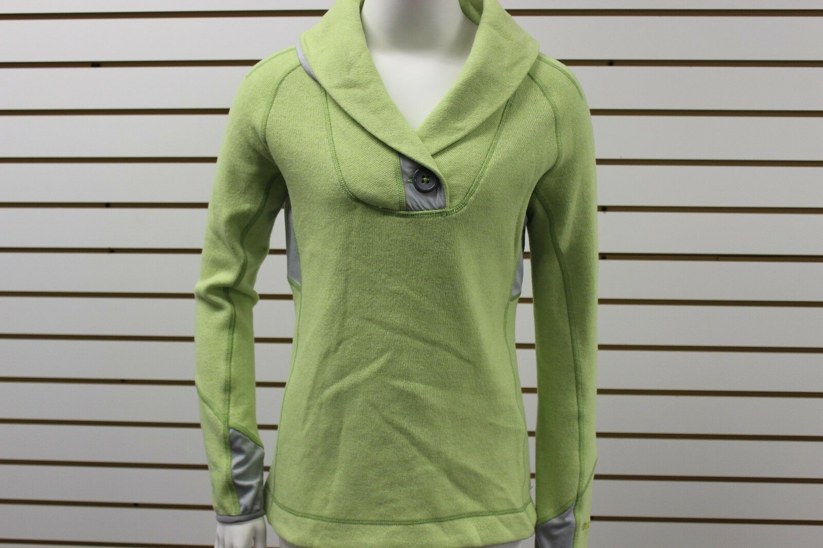 Women's Marmot Lightweight Wool Grace Sweater Sunwashed Green Lichen 56200 NWT