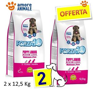 Forza 10 MAINTENANCE PUPPY JUNIOR Medium//Large al pesce Kg.12,5