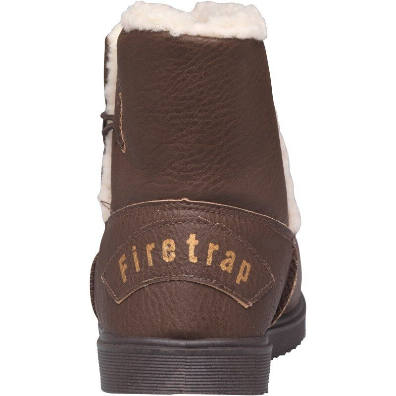 BNIB Größe New Damenschuhe Firetrap Winter Wool Stiefel Chocolate Größe BNIB 4 5 6 7 cce1ba