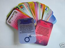 Symbol Energie Orakel Karten 32 Wahrsagekarten mit Text und Angaben zu Zeiten