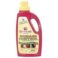 Serenade Garden Disease Control 32 Oz Concentrate - Organic Fungicide Mildew