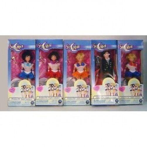 Raro Muñecas Sailor Moon 6  5 piezas de este conjunto por Irwin Juguetes