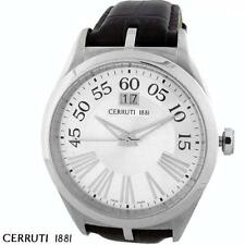 CERRUTI 1881 MEN'S TRADIZIONE SWISS STAINLESS QUARTZ WATCH NEW CT67081X103022