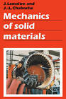 Mechanics of Solid Materials by Jean-Louis Chaboche, Jean Lemaitre (Hardback, 1990)