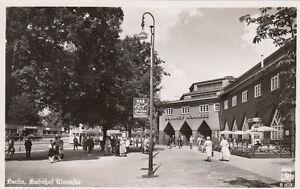 TARJETA-POSTAL-CA-14x9-cm-Estacion-ferroviaria-Wannsee-Genuino-FOTOGRAFIA