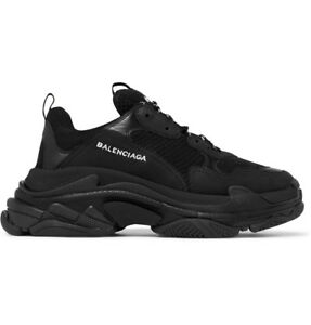 ee20b3e940118 Balenciaga Triple S ITALY Speed Runner Trainer Arena Triple Black EU ...