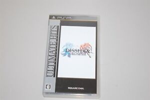 Ultimate Hits Dissidia Final Fantasy Japan Sony PSP game