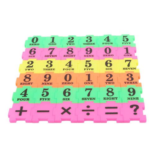 36Pcs Child Number Alphabet Puzzle Toys Foam Maths Educational Cognition Toy CB