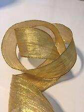 """5//8/"""" Solid Iridescent  Ribbon White//Red BS09-5 Yards"""