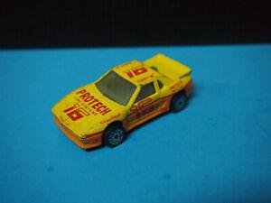 Matchbox Car Pontiac Fiero 1985 Protech Fire Systems 16 Yellow Ebay