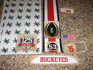 ohio state buckeyes full size football helmet