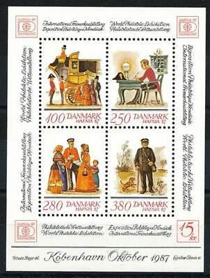 Briefmarken Dänemark Block 6** Hafnia 86 SorgfäLtig AusgewäHlte Materialien 245701