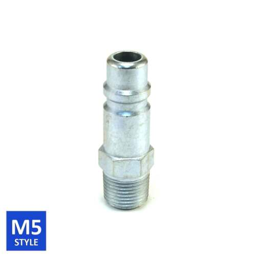 Foster 5 Series Quick Coupler Plug 1/2 Body 3/8 NPT Air and Water Hose Fittings