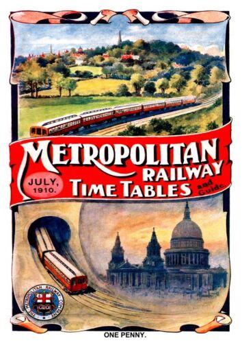 reproduction. Metropolitan : Vintage Advertising Wall art poster poster