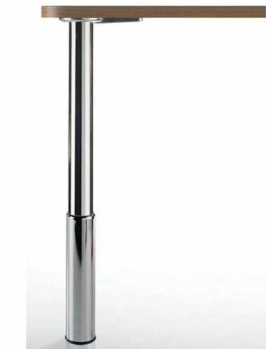 Tischbein Metall 80-97 cm höhenverstellbar Tischfuß Möbelbein 150 Kg *Studio88
