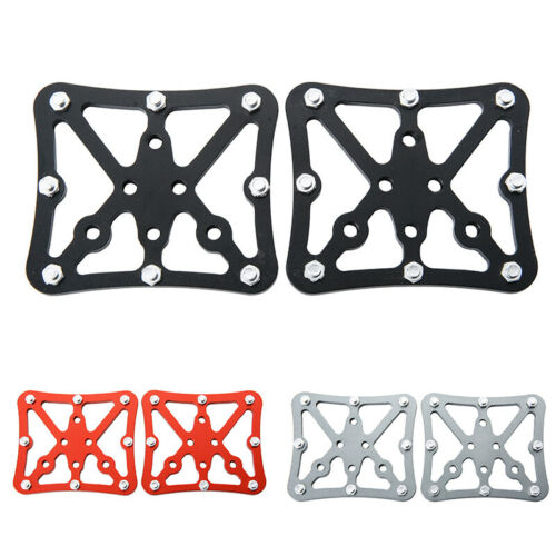 SPD Aluminum Alloy MTB Bike Bicycle Pedal Adapter Platform Clipless For Shimano