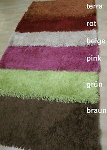 Sale-Wissenbach-034-Lina-Shaggy-034-70x140-cm-New-Handtuft-Rug-Different-Colours
