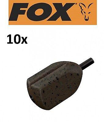 10 Fox Camotex Square Inline Leads Karpfenbleie für Karpfenmontagen