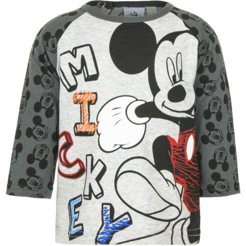 Disney Baby Langarm Shirt Disney Micky Maus Kleinkind 6-23 Monate Gr 67-86 Neu