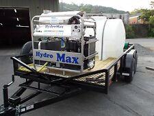 Hot Water Pressure Washer Trailer Mounted 8gpm4000psi Diesel Engine
