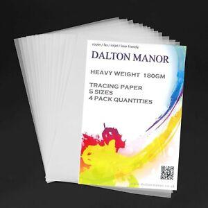 Dalton-Manor-poids-lourd-180GM-Premium-Papier-calque-en-SRA2-A3-A4-A5-Tailles