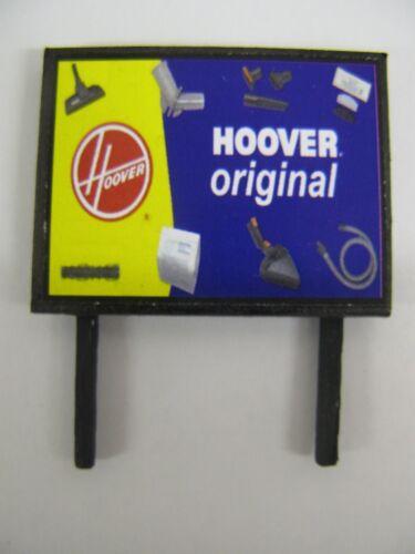 Model Railway Billboard Hoover Original N /& OO Gauge