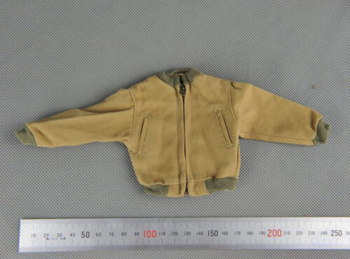 """1//6 Scale WW II US Army Canvas jacket Model for 12/"""" Action Figure"""