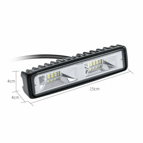 2X LED Arbeitsscheinwerfer Light Bar 48W Offroad Flutlicht Strahler 12V//24V SUV