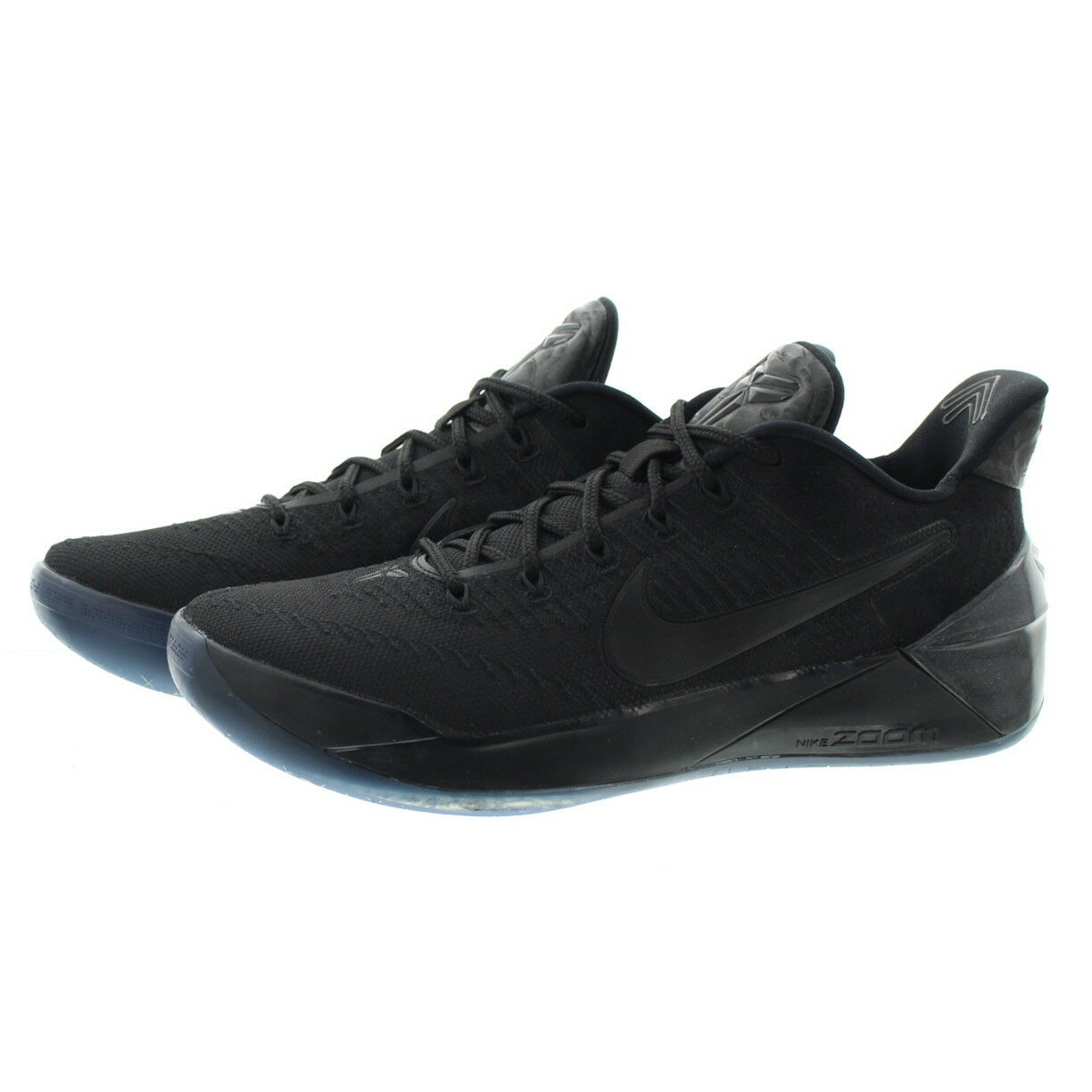 14f283ad44a5 Nike Kobe A.d. Triple Black AD Men Basketball Shoes Low 852425-064 ...