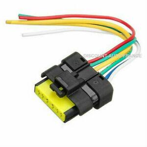 Kit-Reparation-prise-connecteur-Temic-moteur-de-leve-vitre-CLIO-3-ESPACE-4