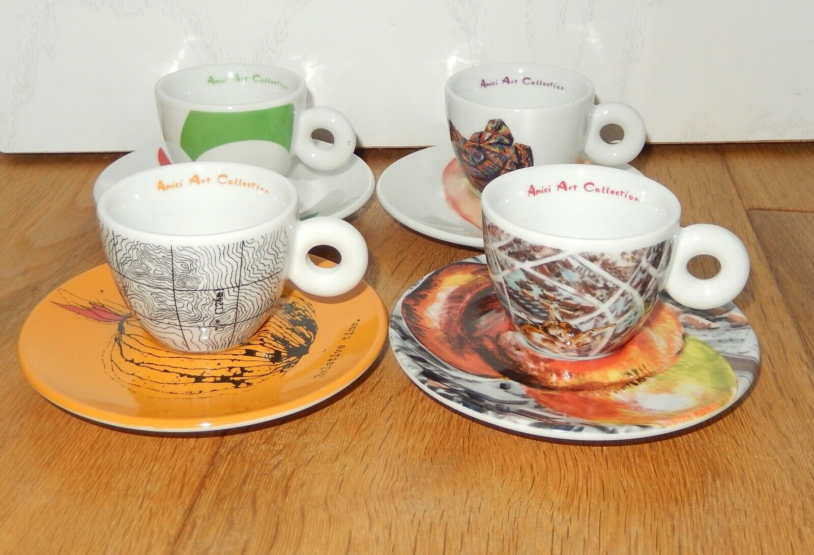 Amici collection ILLY COLLECTION Espresso Tasses Art Collection 2014 top
