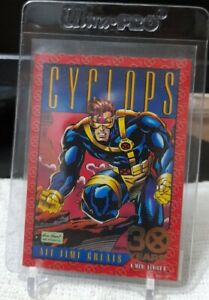 SKYBOX 1993 X-Men Series 2 CYCLOPS 30th Anniversary Gold Foil Card