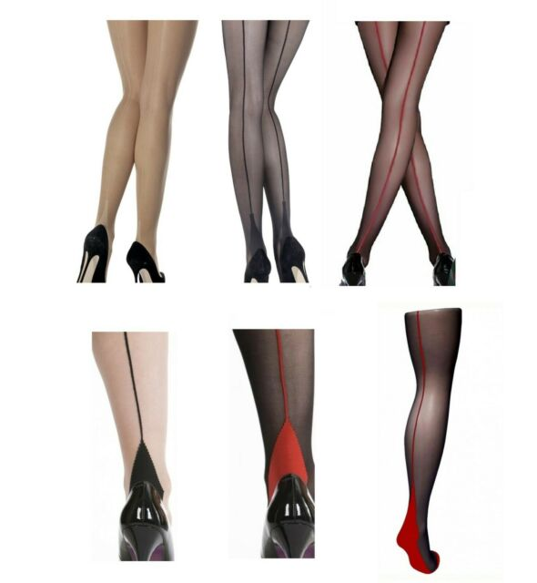 Trasparenze Tights Black With Gold Sparkle Size 3