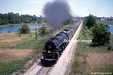 Original Photograph: Norfolk & Western 1218 at Argos, IN (5 x 7)