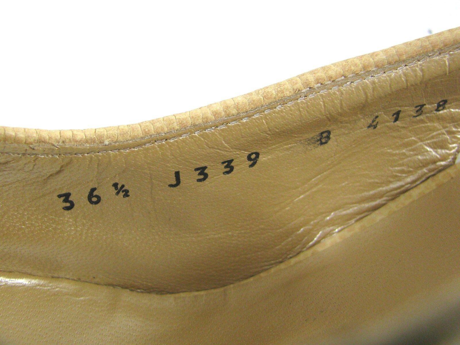 New ST JOHN Raffia Heels Heels Heels 6.5 B  Multi color Beige Slingback shoes  Pump b19d44