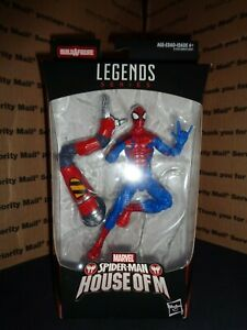 MARVEL-SPIDER-MAN-HOUSE-OF-M-Legends-Series-Action-Figure-NEW-SEALED-NICE