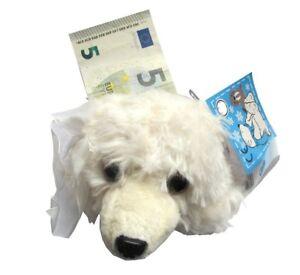 Geldboerse-Eisbaer-Boerse-Geldbeutel-Kinder-Pluesch-Plueschtier-NEU-OVP