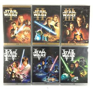 Star-Wars-L-039-integrale-La-Trilogie-Prelogie-Coffret-Lot-9-DVD