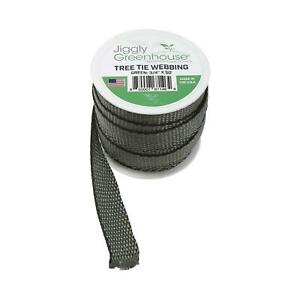 """Jiggly Greenhouse Tree Tie Straps 3//4/"""" x 250/' Roll Made In The USA"""
