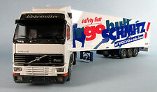 TEKNO Volvo FH12 Tractor Trailer Schmitz (White) 1/50 Scale Diecast Model RARE!