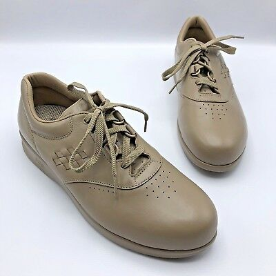 Comfort Shoes Smart Sas Free Time C4931329 Women Taupe Leather Comfort Shoe Size 10.5m Nwob Cleaning The Oral Cavity.