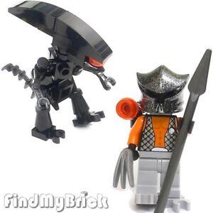M203G SW11 Lego Custom Alien Minifigure vs Predator Custom ...