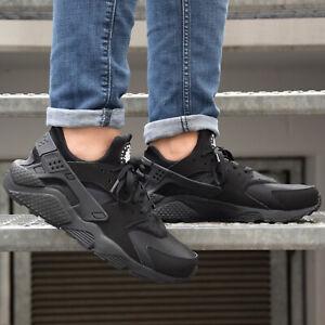 where to buy cheap pretty cool Details zu Nike Air Huarache Schuhe Sneaker Herren Schwarz 318429-003