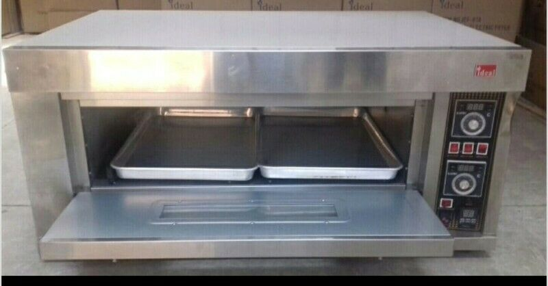 1 DECK 2 TRAY ELECTRIC OVEN 220V