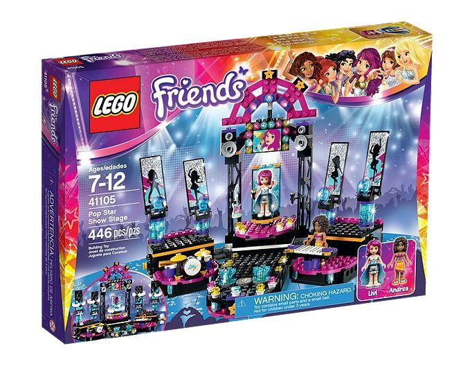 LEGO ® Friends 41105 pop star show stage nouveau OVP New MISB NRFB