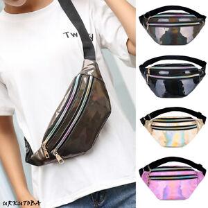US-Women-Girls-Waist-Fanny-Pack-Belt-Bag-Chest-Pouch-Hip-Bum-Bag-Small-Purse
