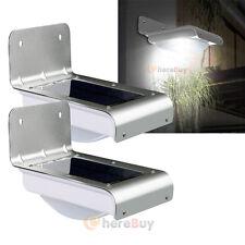 2x 16LED Solar Power Motion Sensor Garden Security Lamp Outdoor Waterproof Light