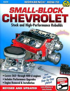 SMALL BLOCK CHEVROLET V8 ENGINE REBUILDS BOOK MANUAL ATHERTON SHREIB PERFORMANCE
