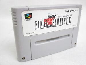 FINAL-FANTASY-VI-6-Super-Famicom-Nintendo-SNES-Free-Shipping-Hit-Japan-sfc