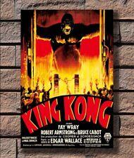 """King Kong Classic Movie Poster 13x20/"""" 20x30/"""" 24x36/"""" Art Print #3"""